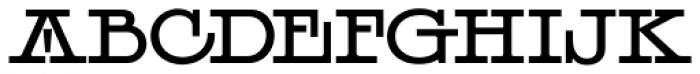 LHF Henderson Font LOWERCASE