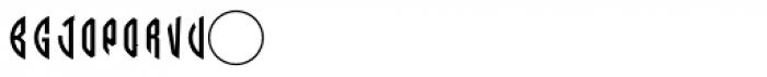 LHF Monogram Circle 1 Font OTHER CHARS