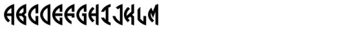 LHF Monogram Oval 1 Font UPPERCASE