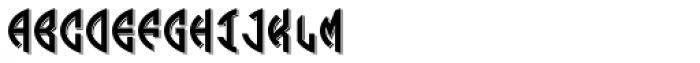 LHF Monogram Oval 1 Font LOWERCASE