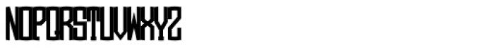 LHF Monogram Oval 2 Font UPPERCASE