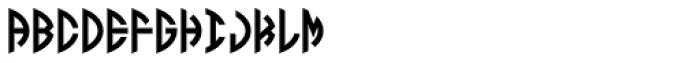 LHF Monogram Oval 3 Font UPPERCASE