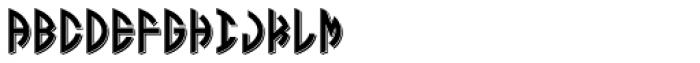 LHF Monogram Oval 3 Font LOWERCASE