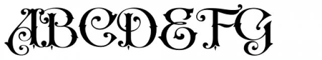 LHF Nugget Regular Font UPPERCASE