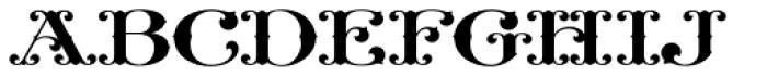LHF Nugget Regular Font LOWERCASE