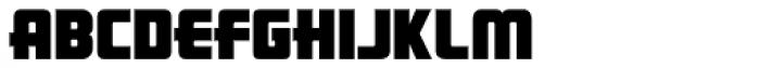LHF Pipeline Font UPPERCASE