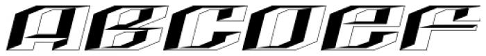 LHF Quantum Convex Font UPPERCASE