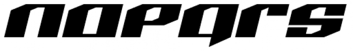 LHF Quantum Font LOWERCASE