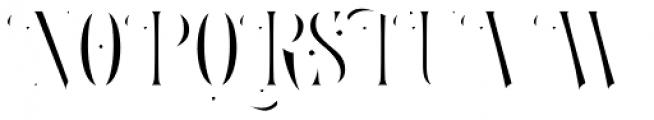 LHF Royal Crimson Inset Font UPPERCASE