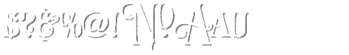 LHF Royal Crimson Shadow Font OTHER CHARS