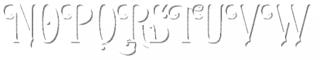 LHF Royal Crimson Shadow Font UPPERCASE
