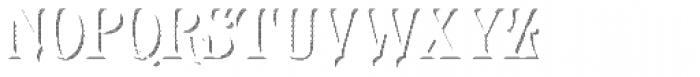 LHF Royal Crimson Shadow Font LOWERCASE