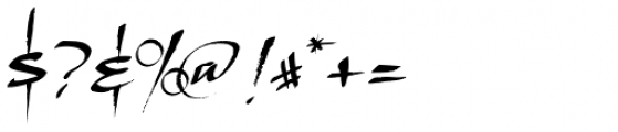 LHF Scriptana Font OTHER CHARS