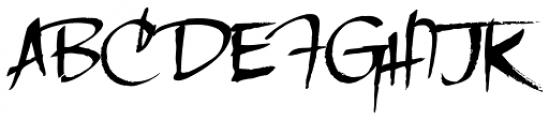 LHF Scriptana Font UPPERCASE