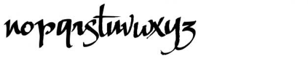 LHF Scriptana Font LOWERCASE