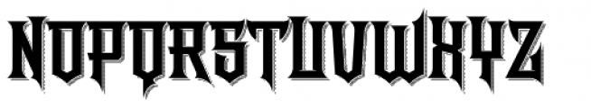 LHF Shogun Shadow Font UPPERCASE