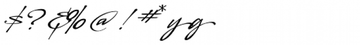 LHF Sofia Script Font OTHER CHARS