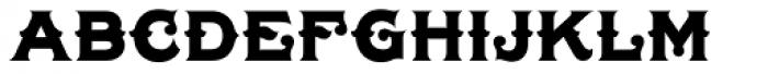 LHF Tonic Liver Font UPPERCASE