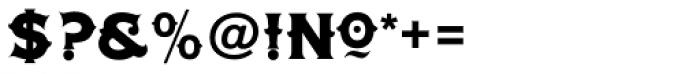 LHF Tonic Nerve Font OTHER CHARS
