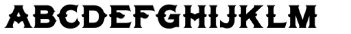 LHF Tonic Nerve Font LOWERCASE