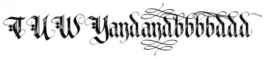 LHF Tributary Distressed Alt 1 Font UPPERCASE