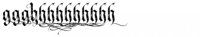 LHF Tributary Distressed Alt 1 Font LOWERCASE