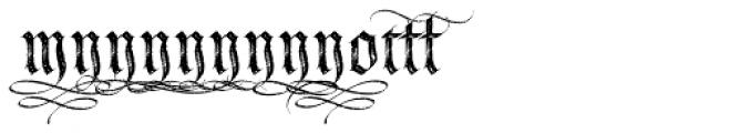 LHF Tributary Distressed Alt 2 Font UPPERCASE