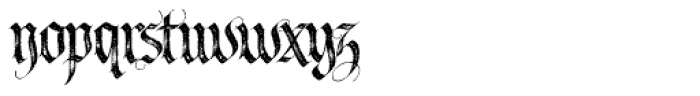 LHF Tributary Distressed Font LOWERCASE