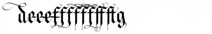 LHF Tributary Regular Alt 1 Font UPPERCASE