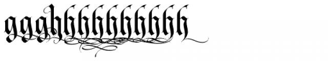 LHF Tributary Regular Alt 1 Font LOWERCASE