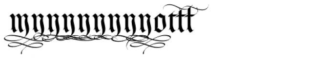 LHF Tributary Regular Alt 2 Font UPPERCASE