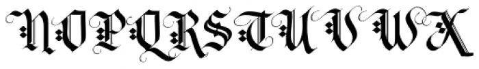 LHF Tributary Regular Font UPPERCASE