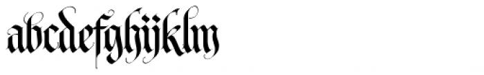 LHF Tributary Regular Font LOWERCASE