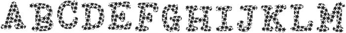 LIBERTY Regular ttf (400) Font UPPERCASE