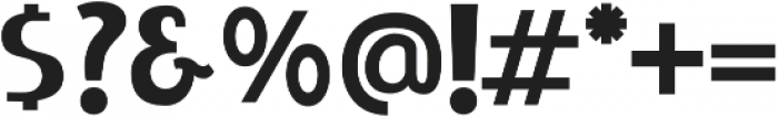 LIEUR Black otf (900) Font OTHER CHARS