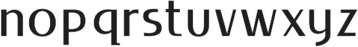 LIEUR Medium otf (500) Font LOWERCASE