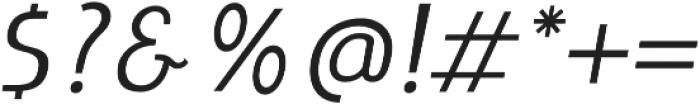 LIEUR otf (400) Font OTHER CHARS