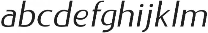 LIEUR otf (400) Font LOWERCASE