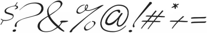 Liana Regular otf (400) Font OTHER CHARS
