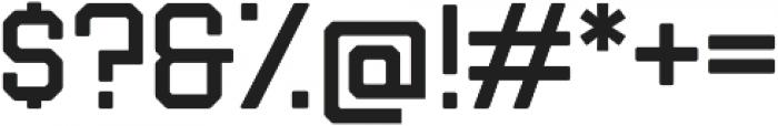 Liberator Light otf (300) Font OTHER CHARS