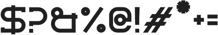 Libercity Regular otf (400) Font OTHER CHARS
