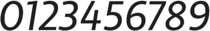 Libertad Italic otf (400) Font OTHER CHARS