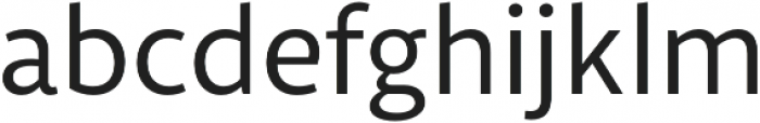 Libertad Regular otf (400) Font LOWERCASE