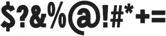 Libertatus Regular otf (400) Font OTHER CHARS