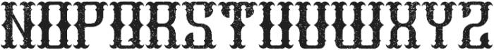 Liberty Aged otf (400) Font LOWERCASE
