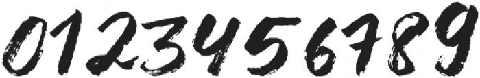 Liberty brush Medium otf (500) Font OTHER CHARS