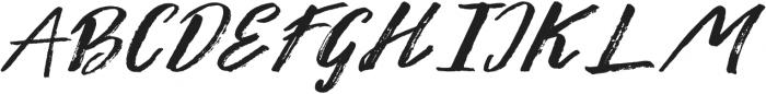 Liberty brush Medium otf (500) Font UPPERCASE