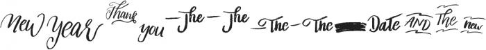 Liberty extra Medium otf (500) Font UPPERCASE