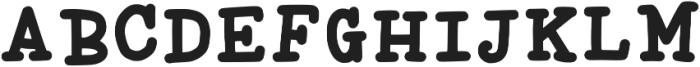 Liberty1 Regular ttf (400) Font UPPERCASE