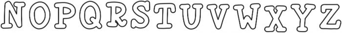 Liberty1 Regular ttf (400) Font LOWERCASE